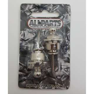 Guitar Nickel Strap Lock System (by Allparts)