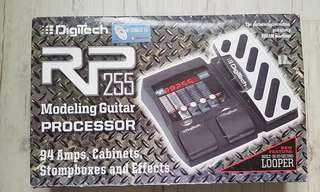 Digitech RP255 Guitar Multi-effects with USB Recording