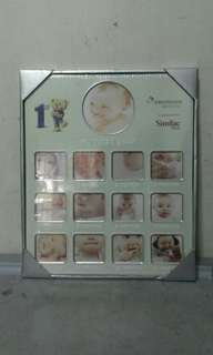 Baby First Year Photo Frame