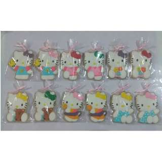 Hello Kitty Sugar Cookies...