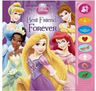 Disney Princess Play a Sound Book