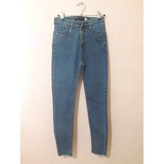 High waist fitted jeans 😍