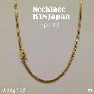 18k Japan Gold Necklace
