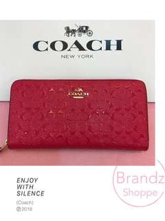 🛍SPECIAL SALE! 💯% Ori Coach Long Wallet / Women Purse @ Ready Stock!