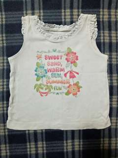 Carter's Sleeveless Girl Top Size 2-3Y