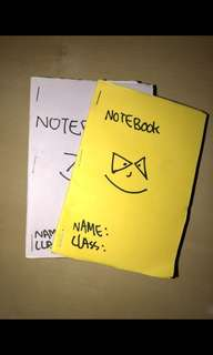 🚚 Handmade booklet (Buy 1 get 1 free)by a student