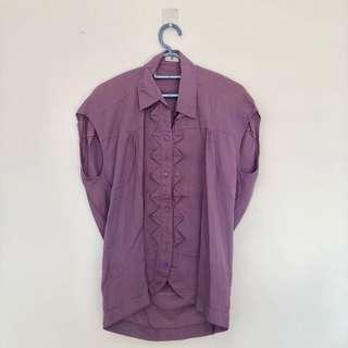 Satcas Purple Top