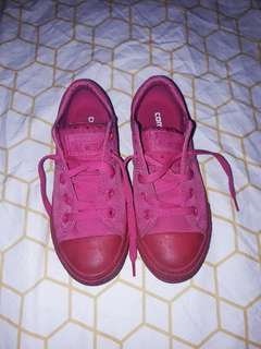 Authentic Converse for Kids (Pink)