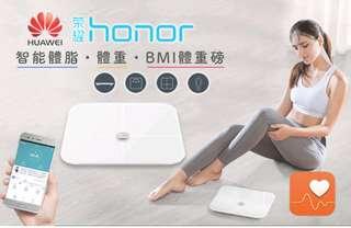 Huawei Honor 智能體脂磅