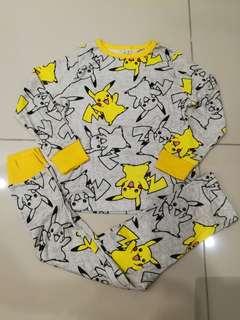 Pikachu 100% cotton Pyjamas