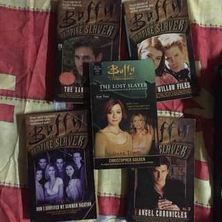 Buffy the Vampire Slayer Book Bundle