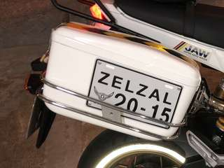 Side Box/Panniers - Used