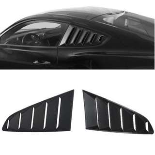 Toyota 86 Subaru BRZ Side Window Louvers Vent Pair ABS