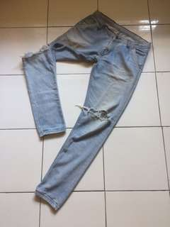 Ripped Jeans Hnf slimfit (unisex)