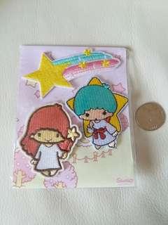 Twin Stars刺繡燙熨章(3個)