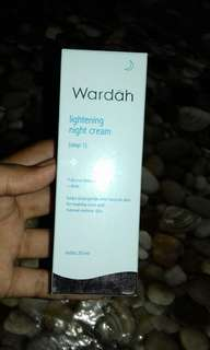 WARDAH LIGHTENING NIGHT CREAM STEP1
