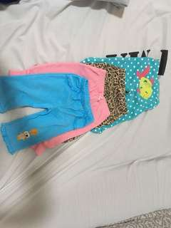 TAKE ALL 10PCS ASSORTED BABY GIRL CLOTHES