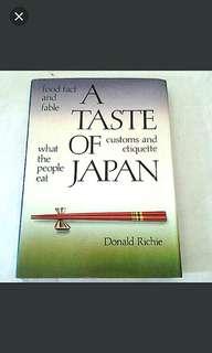 A Taste of Japan Book