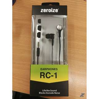 全新ZEROIZE EARPHONE RC-1