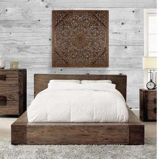 "Balinese Single Size Bed Headboard ""Lily"" - 120 cm"