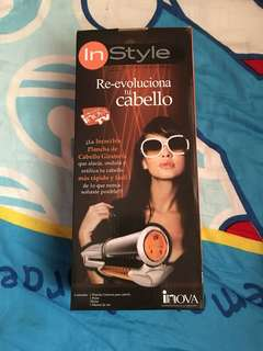 🚚 In style the rotating iron Hair Dryer