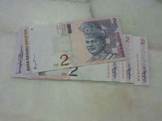 Ahmad Don RM2 = 4pcs Running No