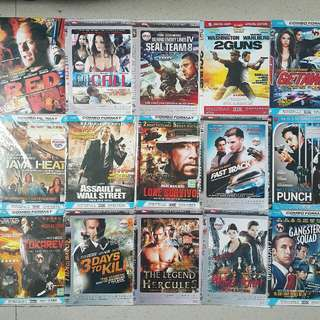 Action Movie pack A (take all 30rb)