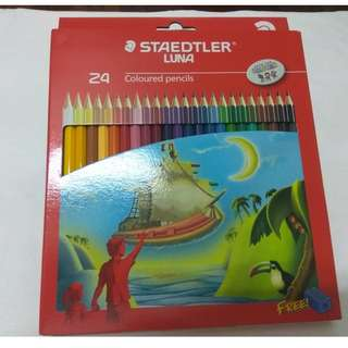 Staedtler Luna Coloured Pencils (24)