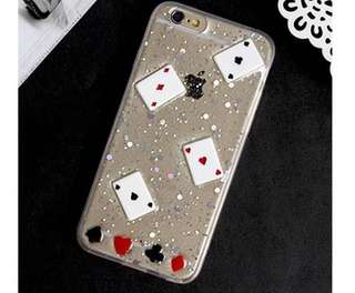 (NEW JUAL RUGI)PLAYING CARD CASE IPHONE 6