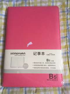 BN Pink B5 Lined Notebook