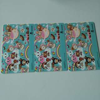 ORIGINAL TOKI DOKI LIMITED EDITION EZ LINK CARD