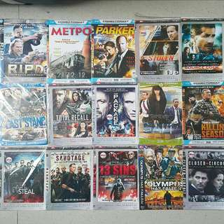 Action Movie pack B (take all 30rb)