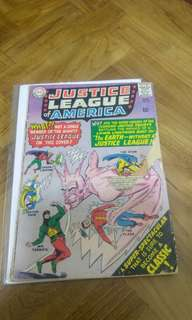 Justice League of America # 37 silver age comic 🗝️Minor key