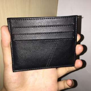 Black 6 Card Holder