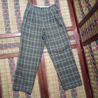 R191 OH Hewett Celana Panjang Vintage Pria Size 27 not Jeans
