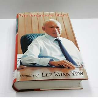 1998 The Singapore Story: Memoirs of Lee Kuan Yew (Singapore Press Holdings - Times Editions) Hardcover