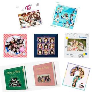 [GO] Sealed TWICE Albums