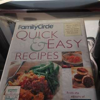 Quick and Easy Recipes Book