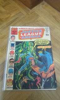 Justice League of America # 87 silver age comic