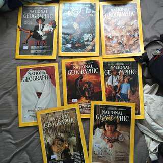 舊 National Geographic 雜誌