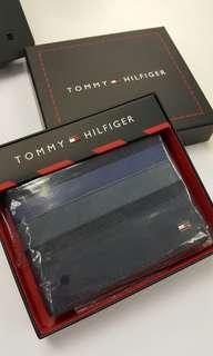 Tommy Hilfiger Ethan 系列男士錢包 (深藍色)