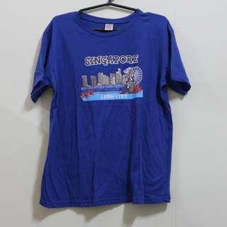 Blue Singapore Shirt
