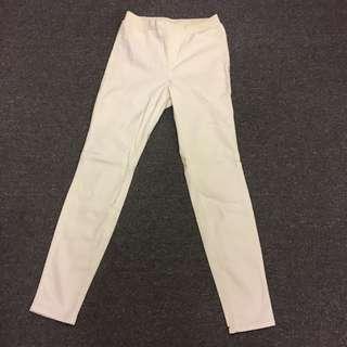 Uniqlo HeatTech White Pants