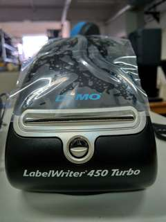 99新 Dymo LabelWriter 450 Turbo Thermal printer 熱敏貼紙 打印機