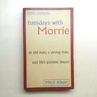 [LARGE DISCOUNT] Tuesdays with Morrie BY Mitch Albom, No.1 US Bestseller