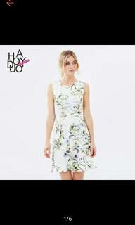 USA 3D Floral Elegant Dress