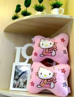Hello Kitty 汽車頭枕一對