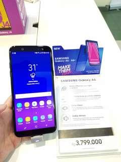 Samsung a6 new kredit tanpa cc