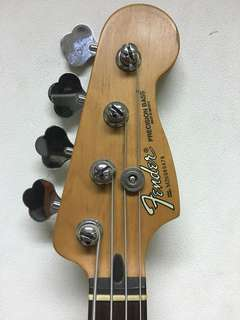 Fender 60 Anniversary P Bass Mexico