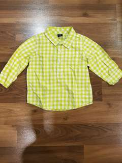 Baby Gap Long Sleeved Polo (18m)